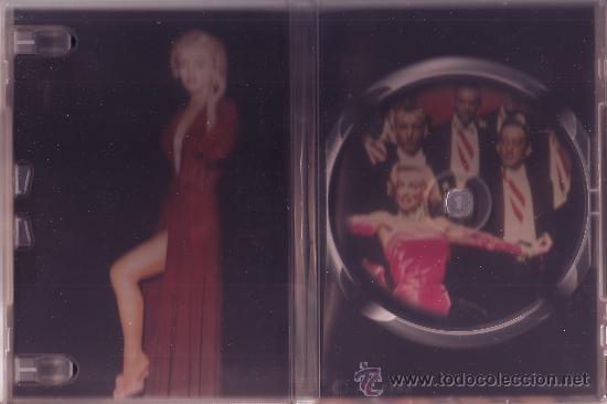 Cine: UXD LOS CABALLEROS LAS PREFIEREN RUBIAS DVD COMEDIA MUSICAL ROMANTICA MARELYN MONROE HAWKS RUSSELL - Foto 2 - 31002186
