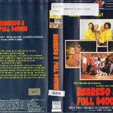 Cine: VHS • REGRESO A FULL MOON. EL HOMBRE LOBO DE LOS JOVENES • DESCATALOGADA • TEEN MOVIE • RARÍSIMAAAAA. Lote 32087972