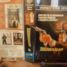 Cine: BRANNIGAN-JOHN WAYNE-VHS. Lote 31294582