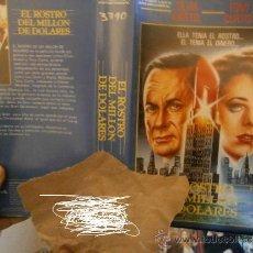 Cine: EL ROSTRO DE MILLON DE DOLARES.TONY CURTIS-VHS. Lote 31295259
