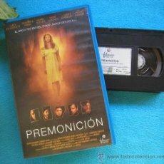 Cine: CINTA VHS ORIGINAL SUSPENSE - TERROR PREMONICIÓN AÑO 2001 . Lote 31295655