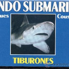Cine: VIDEO VHS JACQUES COUSTEAU = MUNDO SUBMARINO Nº 1 ( PERFECTA) TIBURONES. Lote 31387669