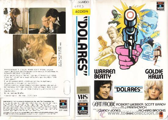 VHS • DOLARES • AKA. DOLLARS (THE HEIST) • RICHARD BROOKS (1971) COMEDIA. INTRIGA | ROBOS & ATRACOS (Cine - Películas - VHS)