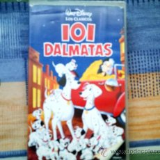 Cine: VHS 101 DALMATAS (PELICULA DISNEY). Lote 31610429