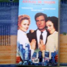 Cine: VHS ARMAS DE MUJER. Lote 31613522