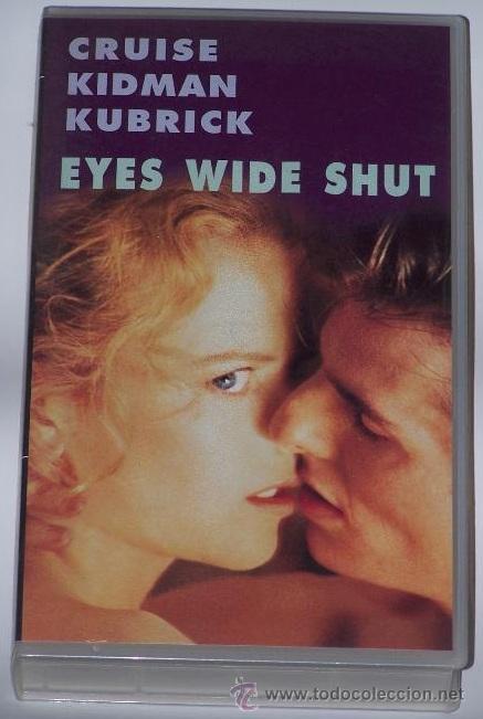 'EYES WIDE SHUT', DE STANLEY KUBRICK. VHS ORIGINAL. (Cine - Películas - VHS)