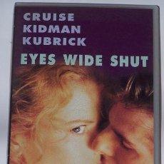 Cine: 'EYES WIDE SHUT', DE STANLEY KUBRICK. VHS ORIGINAL.. Lote 31716005