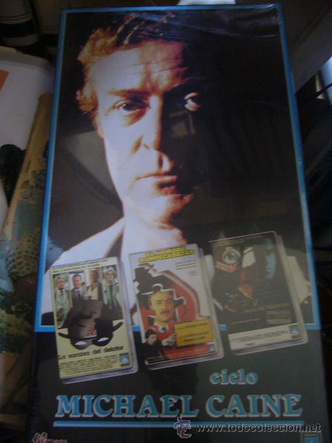 CICLO MICHAEL CAINE. VHS (Cine - Películas - VHS)