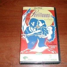 Cine: PELÍCULA VHS: SEVILLANAS DE CARLOS SAURA - REFª (JC). Lote 32337857
