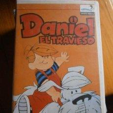 Cine: DANIEL EL TRAVIESO-EDICION DIFICIL VHS DIBUJOS ANIMADOS. Lote 32266108
