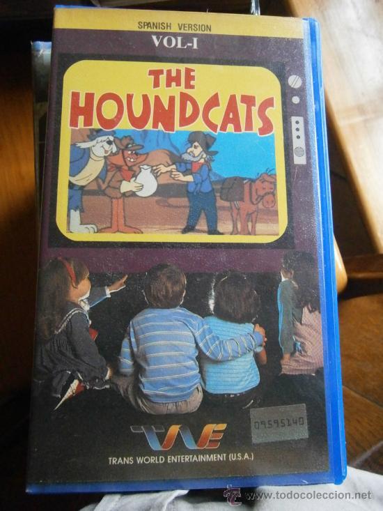 THE HOUNDCATS-VOL 1-VHS-DIBUJOS ANIMADOS (Cine - Películas - VHS)