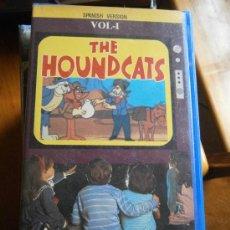 Cine: THE HOUNDCATS-VOL 1-VHS-DIBUJOS ANIMADOS. Lote 32266163