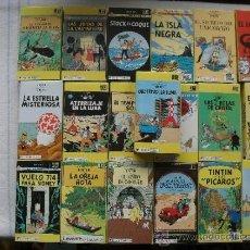 Cine: GRAN LOTE 20 PELICULAS VHS - LAS AVENTURAS DE TINTIN DE HERGÉ - (VER FOGOGRAFIAS ADICIONALES). Lote 32333226