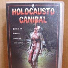Cine: PELICULA VHS - CINTA ORIGINAL - HOLOCAUSTO CANIBAL - . Lote 32349773