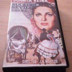 Cine: JUANITA REINA,SUCEDIO EN SEVILLA ,VIDEO VHS. Lote 32420777