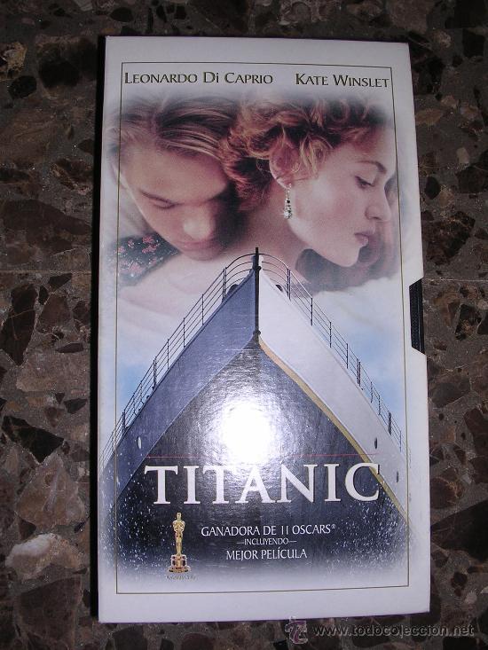 TITANIC VHS - COLECCION EL MUNDO Nº 3 - (Cine - Películas - VHS)