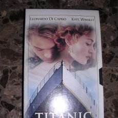 Cine: TITANIC VHS - COLECCION EL MUNDO Nº 3 -. Lote 32547855