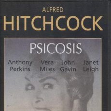 Cine: VHS PSICOSIS - ALFRED HITCHCOCK, ANTHONY PERKINS. Lote 32636618