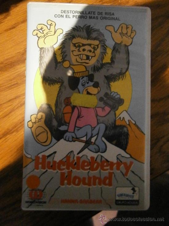 HUCKLEBERRY HOUND--1 EDICION VHS-DIBUJOS ANIMADOS (Cine - Películas - VHS)