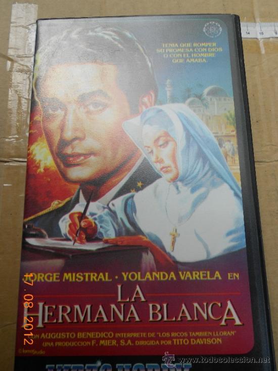 CINE PELICULA VHS: LA HERMANA BLANCA CON JORGE MISTRAL LO (Cine - Películas - VHS)