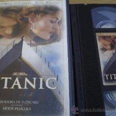 Cine: TITANIC DE LEONARDO DICAPRIO GANADORA DE 11 OSCARS. Lote 32901966