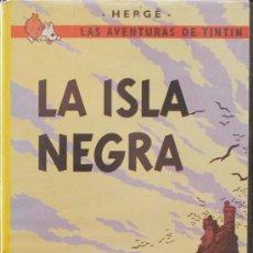 Cine: VHS: LAS AVENTURAS DE TINTÍN: LA ISLA NEGRA - HERGÉ. Lote 32986115