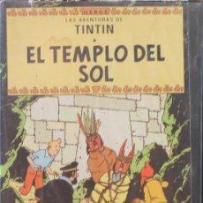 Cine: VHS: LAS AVENTURAS DE TINTÍN : EL TEMPLO DEL SOL - HERGÉ. Lote 32986160