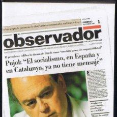 Cine: CINTA VHS - EL OBSERVADOR - SETEMBRE 1991 - LES NOTÍCIES DE L'ANY. Lote 33072158