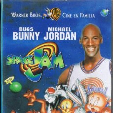 Cine: CINTA VHS - SPACE JAM - BUGS BUNNY - MICHAEL JORDAN. Lote 33075631