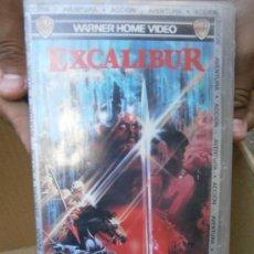 Cine: EXCALIBUR--VHS COMPRA MINIMA 6 EU----. Lote 33076431
