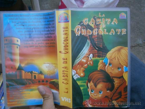 LA CASITA DE CHOCOLATE /DIBUJOS ANIMADOS-VHS--COMPRA MINIMA 6 EU (Cine - Películas - VHS)