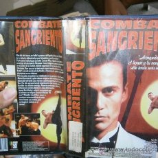 Cine: COMBATE SANGRIENTO-VHS. Lote 69496033