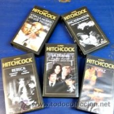 Cine: ALFRED HITCHCOCK-CINTAS VHS. Lote 33398286
