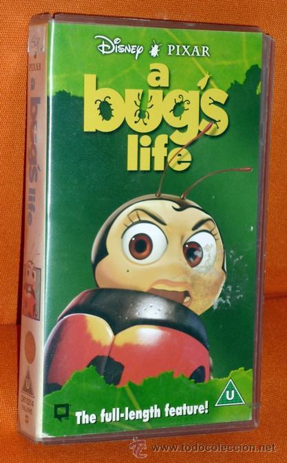 A Bugs Life Bichos Disney Pixar Vhs 1997 Walt Buy Vhs Movies At Todocoleccion 33512258