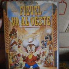 Cine: FIEVEL VA AL OESTE-VHS-COMPRA MINIMA 10 EU--. Lote 33444586
