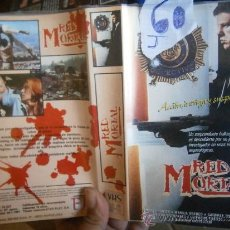 Cine: RED MORTAL-VHS. Lote 33493170