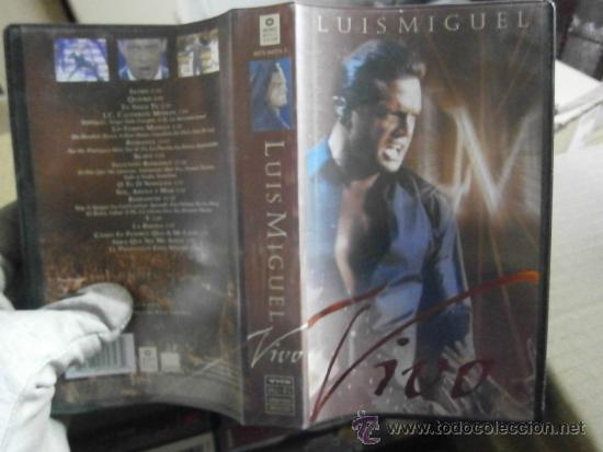 LUIS MIGUEL-VHS (Cine - Películas - VHS)