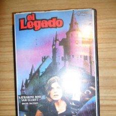Cine: EL LEGADO (1978) VHS - TERROR - KATHARINE ROSS - SAM ELLIOT - ROGER DALTREY. Lote 33691725