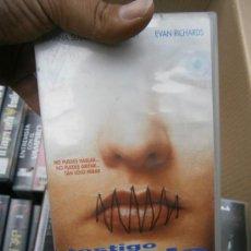 Cine: TESTIGO MUDO--VHS--COMPRA MINIMA 6 EU--. Lote 33944769