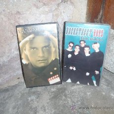 Cine: LOTE CINTAS VHS LUIS MIGUEL Y BACKSTEET BOYS. Lote 34135609