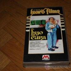 Cine: VHS EL HIJO DEL CURA - FERNANDO ESTESO - IZARO FILMS. Lote 34306086