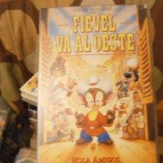 Cine: FIEVEL VA AL OESTE-VHS-COMPRA MINIMA 6 EU--. Lote 34378268
