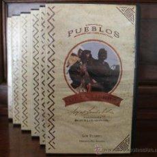Cine: VHS PUEBLOS DE LA TIERRA - SALVAT 1993 – MIGUEL DE LA CUADRA SALCEDO – COLECCIÓN DE SEIS. Lote 34647512