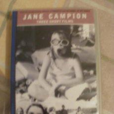 Cine: JANE CAMPIO THREE SHORT FILMS DIRECTORA DE LA PELICULA EL PIANO. Lote 34688166