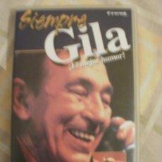 Cine: SIEMPRE GILA EL MEJOR HUMOR UN HOMBRE LLAMADO GILA. Lote 34694364