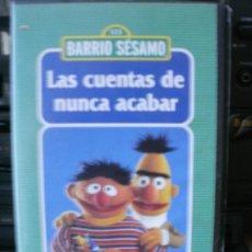 Cine: 1 2 3 BARRIO SESAMO LAS CUENTAS DE NUNCA ACABAR APRENDER A CONTAR. Lote 34942926