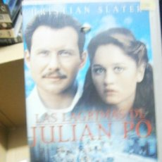 Cine: LAS LAGRIMAS DE JULIAN PO-VHS-COMPRA MINIMA 6 EU-. Lote 34787202