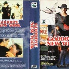 Cine: GOODBYE NEW YORK - JULIE HAGERTY / AMOS KOLLEK. Lote 30344705