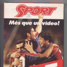 Cine: VIDEO BARÇA - DEL 0-5 AL 5-0 *MÉS QUE UN VIDEO!! * SPORT. Lote 34901646