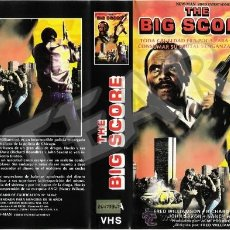 Cine: THE BIG SCORE - FRED WILLIAMSON - BLAXPLOITATION. Lote 29865759